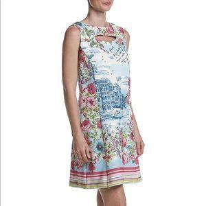 Gabby Skye Hopsack Shift Dress